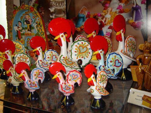 Aparador Amarelo Barato ~ artesanato portugues galos de Barcelos Portugal Pinterest Portuguese and Portugal