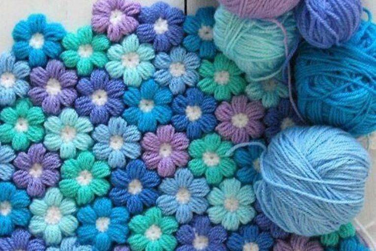 3d Crochet Roses Pattern Easy Video Tutorial Free Pattern Blanket