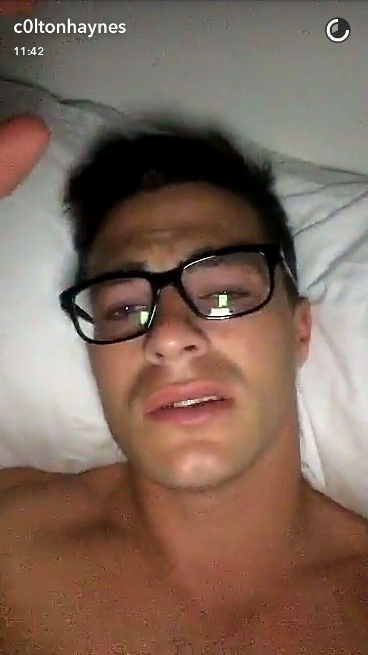 Colton Haynes Via Snapchat  Colton Haynes Teen Wolf Gay