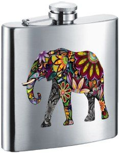 Elephant Flask Flask Stainless Steel Bar Home Kitchens