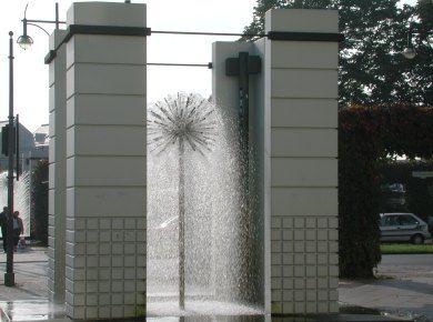 Vier Wassertempel Berlin Trinkbrunnen Brunnen Stadtentwicklung