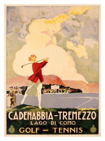 Cadenabbia to Tremezzo, Lago di Como, Golf and Tennis