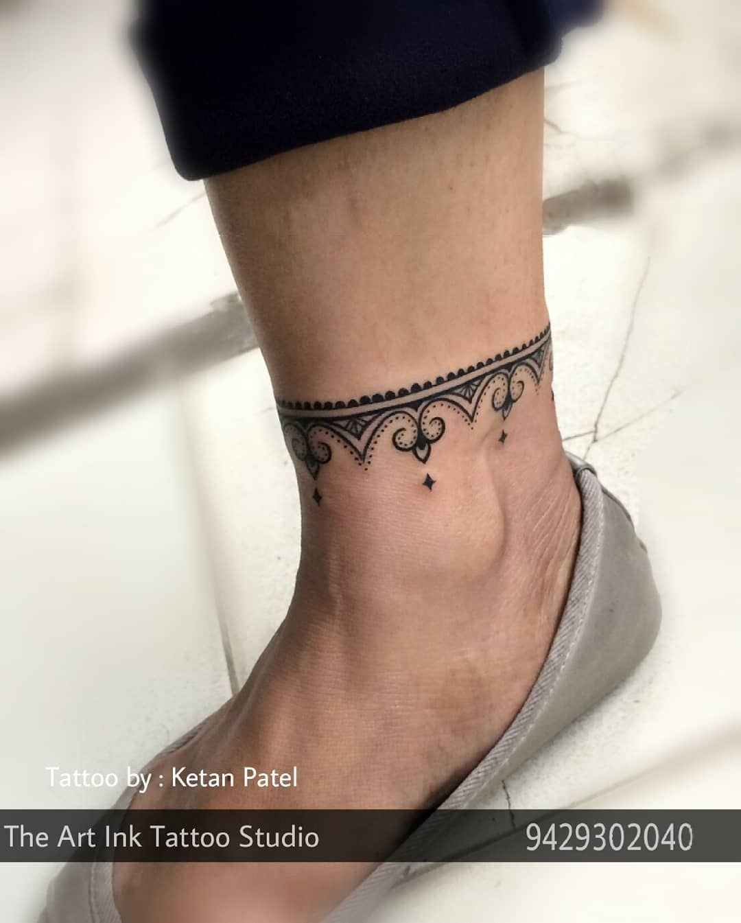 Pin By The Art Ink Tattoo Studio On Tattoo Girls Ankle Tattoo Designs Ankle Tattoo Tattoo Designs For Girls