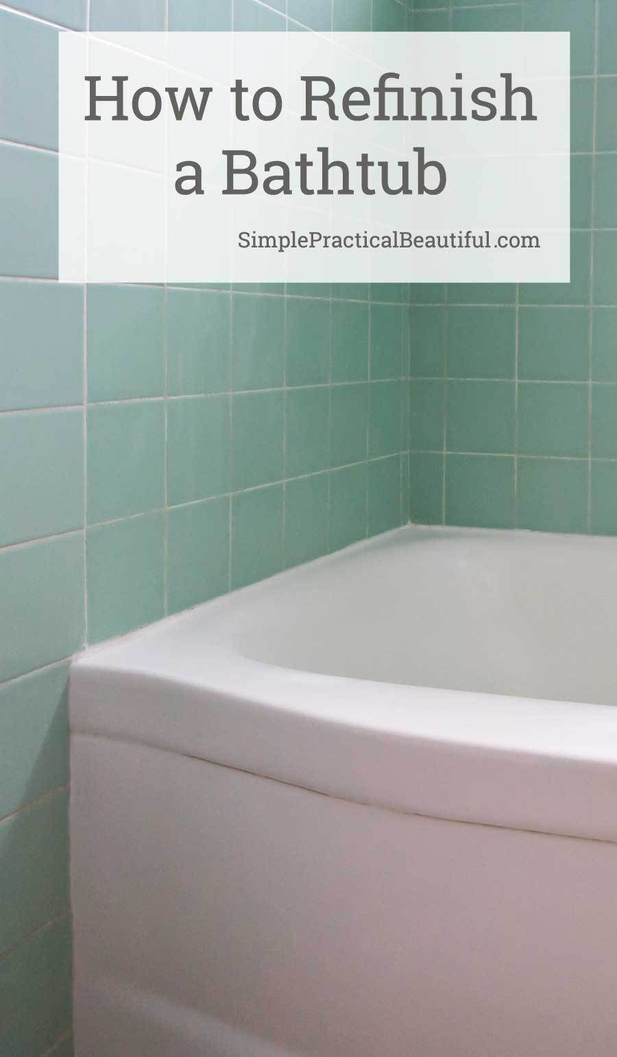 My Experience Refinishing a Bathtub with Rust-Oleum Tub and Tile ...