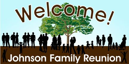 Family Reunion Banner Personalized By Bannergrams Com
