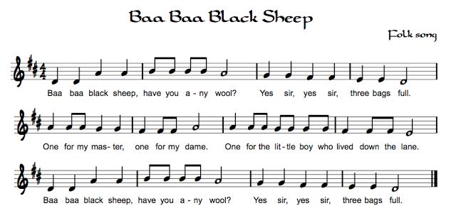 Beth S Music Notes Nursery Rhymes