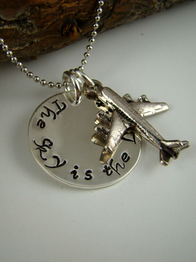 Jewellery & Watches Fine Sterling Silver Helicopter Aircraft Army Air Force Pendant Necklace