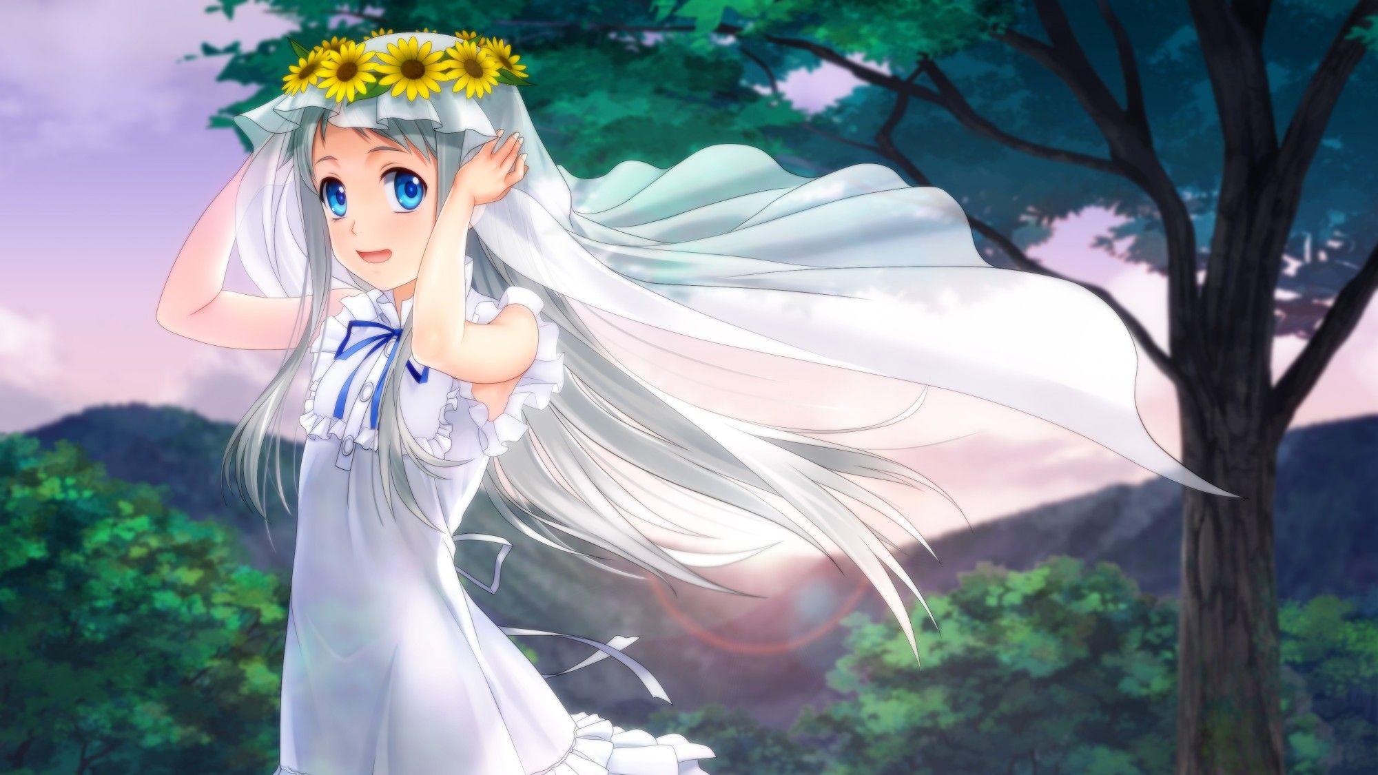 Anohana anime 4k