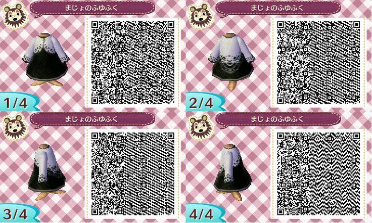 Animal Crossing New Leaf Qr Codes Cute Dresses Google Search Qr Codes Animal Crossing Animal Crossing Qr Animal Crossing Qr Codes Clothes