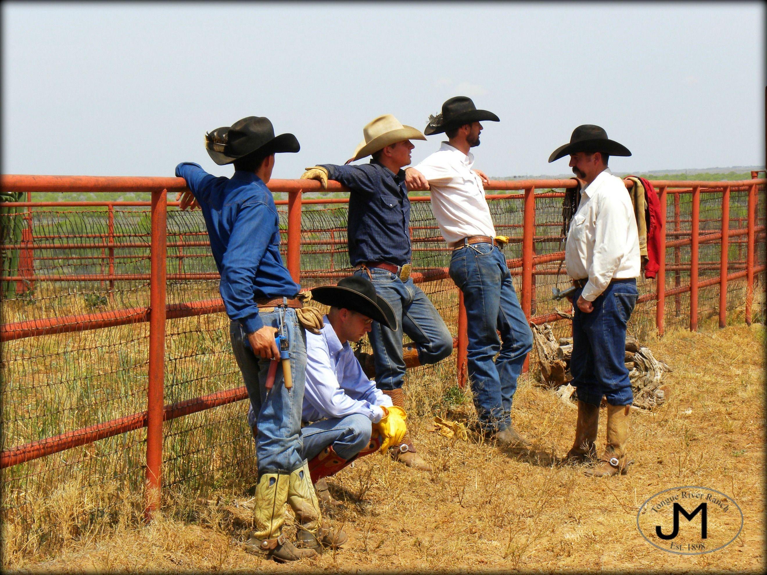 Texas Cowboys Spring Works Tongue River Ranch Texas