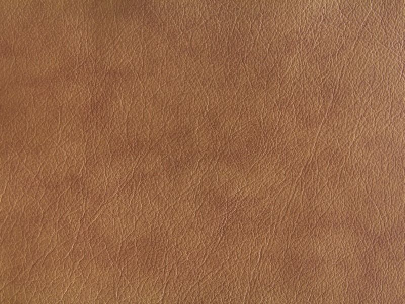 Coudy Brown Leather Texture Wallpaper Fabric Stock Image