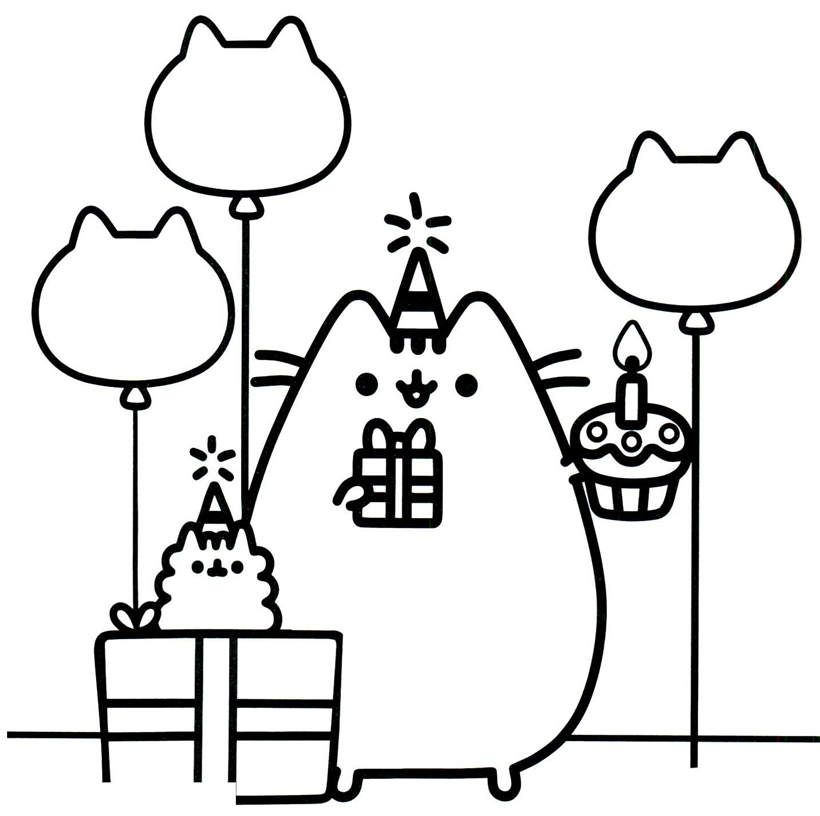 Printable Cute Dogs And Cats Coloring Pages Google Search Pusheen Coloring Pages Coloring Pages Halloween Coloring Book