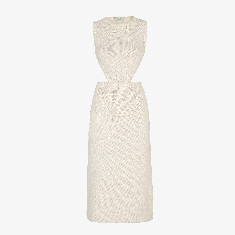 White Cotton Dress Dress Fendi Fendi Online Store Nel 2021 [ 1500 x 1500 Pixel ]