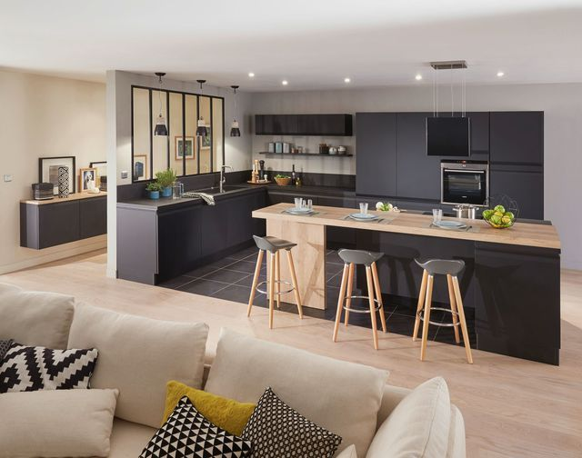 Cuisine Quip E Moderne Nos Mod Les Pr F R S Salons Lofts And Kitchens