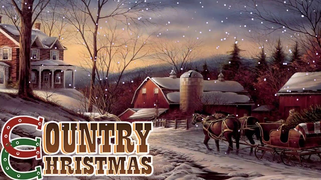 Youtube Country Christmas Music 2020 Country Christmas Songs 2020 ♥♥ Country Carols Music Playlist