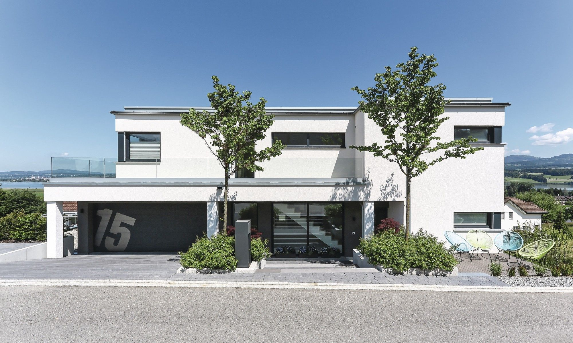fertighaus weberhaus holzbauweise villa pool lakelucerne schweiz haus h user. Black Bedroom Furniture Sets. Home Design Ideas