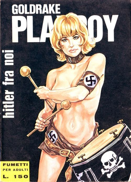 Lurid cover from Goldrake Playboy