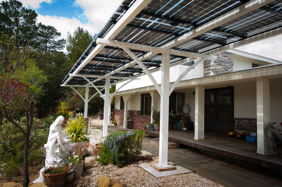 Solar Patio Cover Contemporary With Awning Carport Lumos LSX