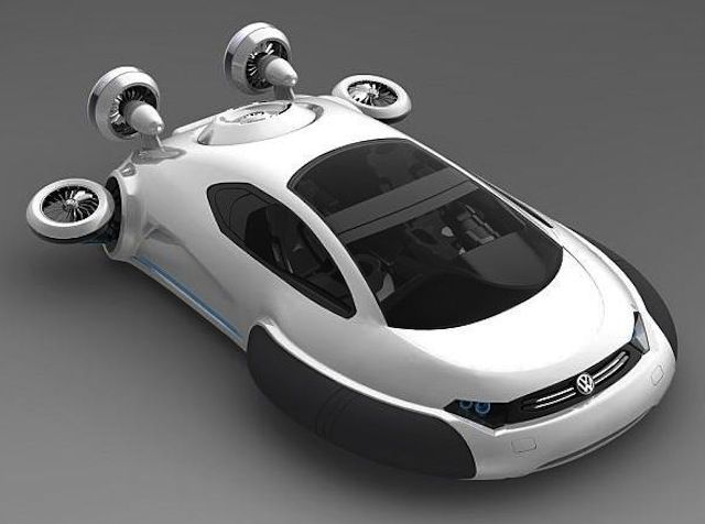 Volkswagen Hover Car Concept New Technology Concept Cars Cars