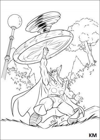 Thor Ausmalbilder Avengers Coloring Pages Coloring Pages