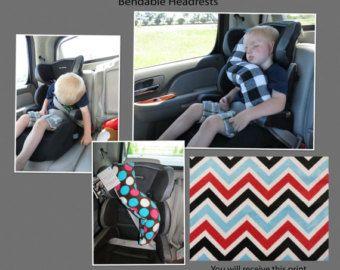 Kids Travel Pillow ErGO BUDDY Bendable By FuzzyCheeksBoutique