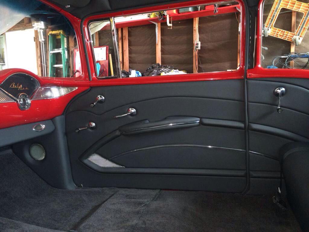 Belair Interior Custom Car Interior Automotive Upholstery Car Interior