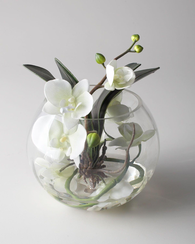 Interesting Asian Floral Arrangements With Decoration