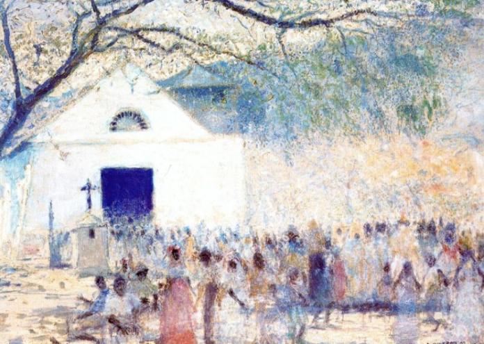 Armando Reverón - Fiesta en Carballeda (1924)