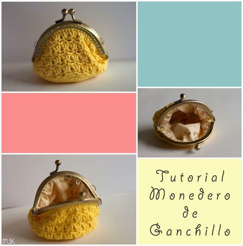 tutorial monedero ganchillo | Monederos | Pinterest | Crochet ...