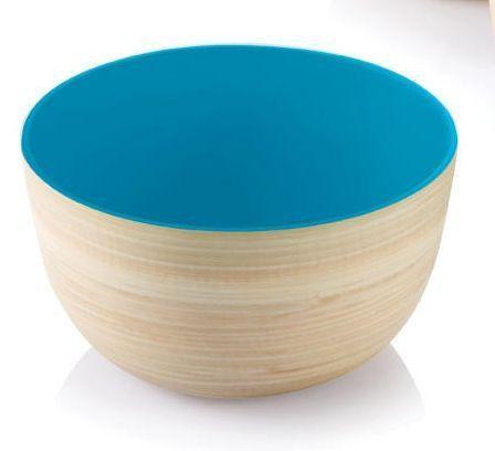 Superior Bambu Mini Me Lacquerware Bowl Outside In, 2 Colors Nice Design