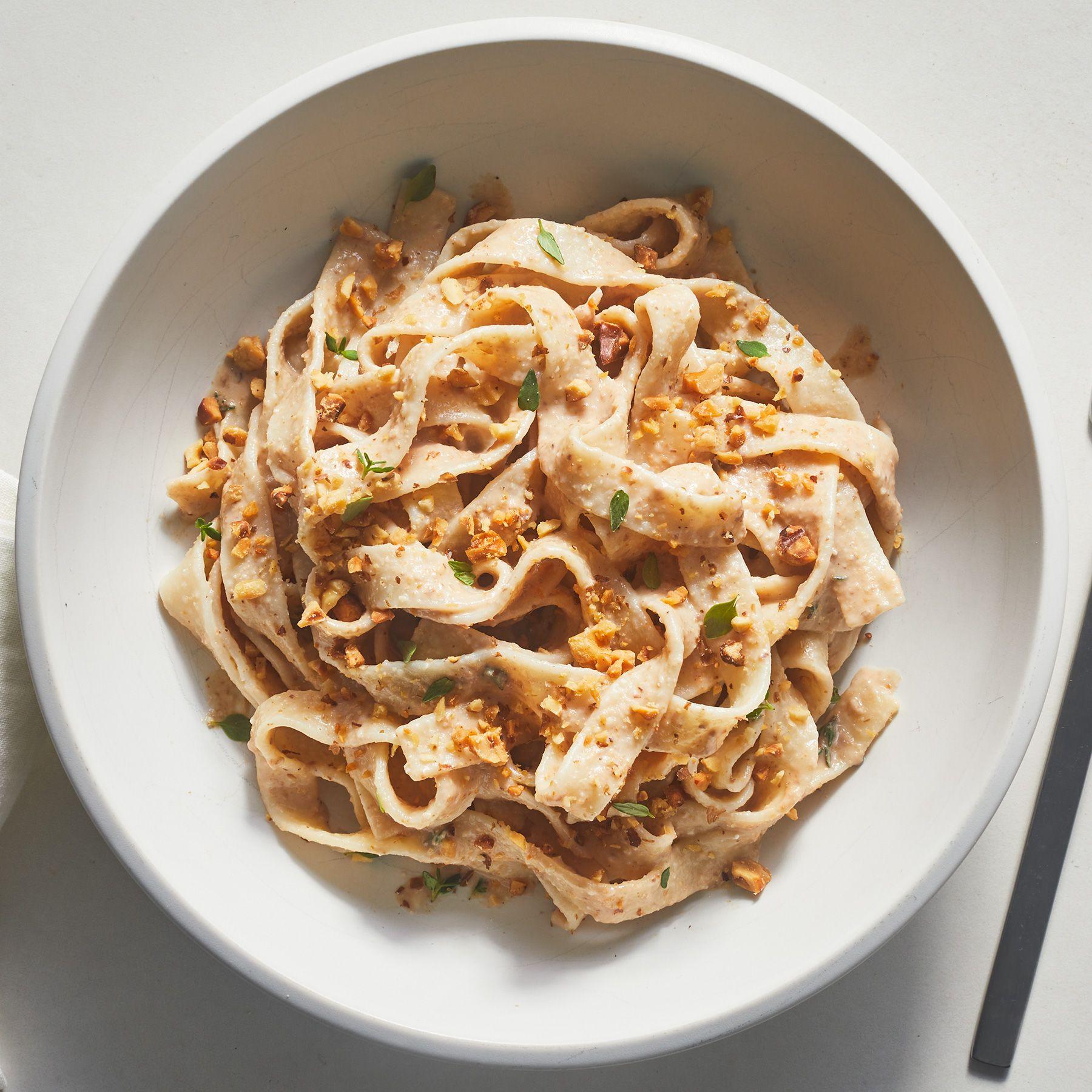 Creamy Walnut Pasta Recipe Recipes Pasta Recipes Pasta
