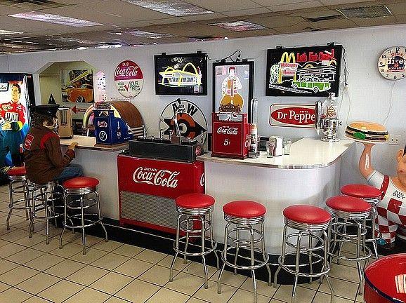 Coca Cola Soda Fountain Bar This Unit Has Been Assembled