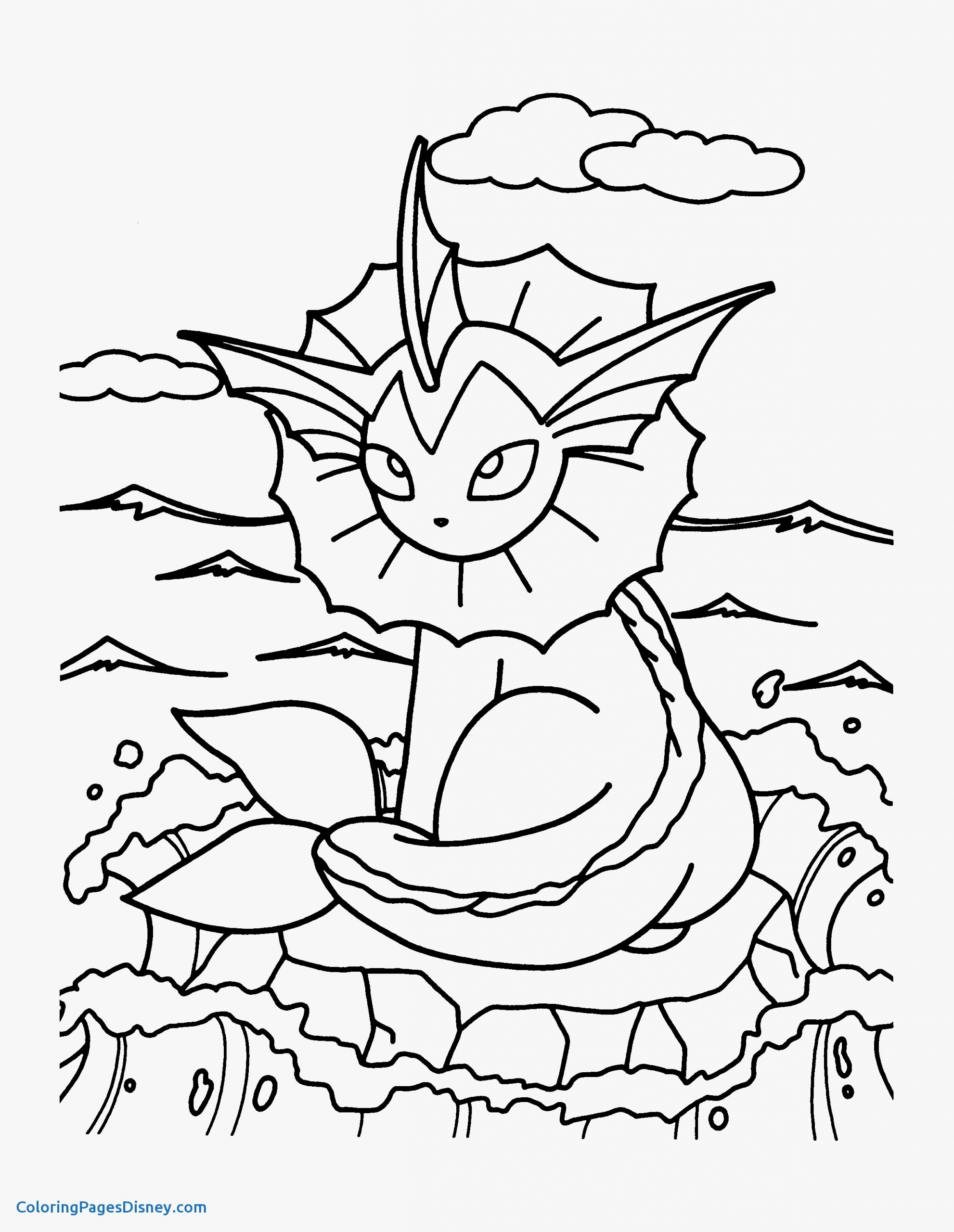 Pin On Pokemon Coloring Page