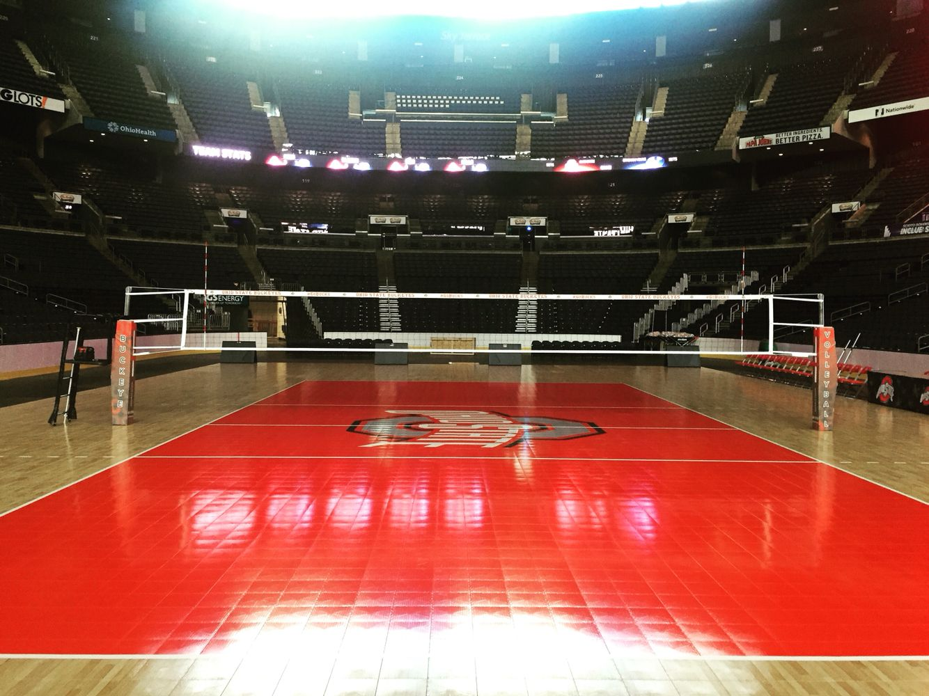Sports Imports Dc Koehl Classic At Nationwide Arena Sportsimports Atthecenter Volleyball Net Indoor Volleyball Volleyball
