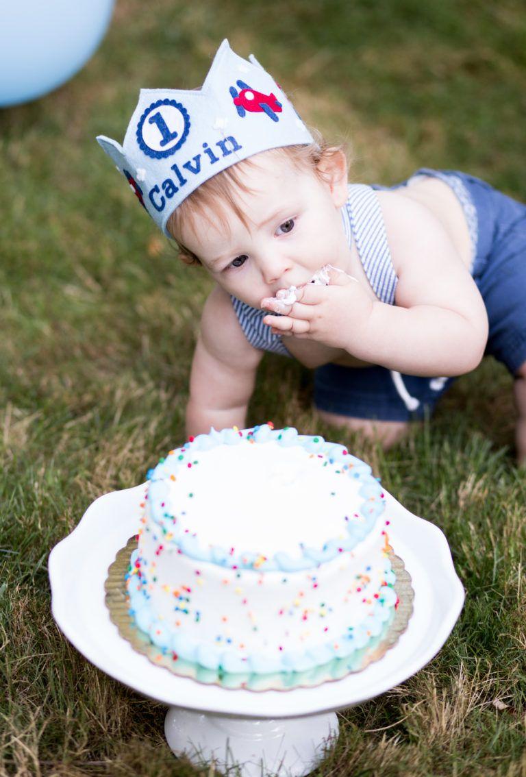 1st Birthday Cake Smash ChiaraBella Photography 1st