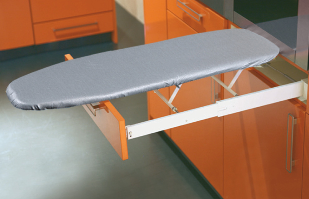 Hafele Ironfix Ironing Board Built In In The Hafele America Shop Hafele Kitchen Table With Storage Ironing Board