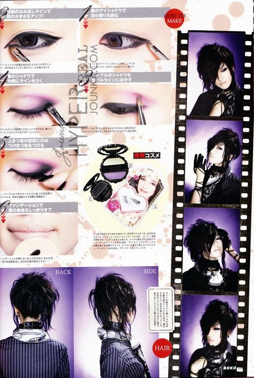 Visual Kei Eye Makeup Google Search What I Would Love To Wear