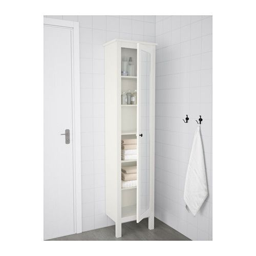 hemnes hochschrank mit spiegelt r wei bad flur pinterest spiegelt r hochschrank und. Black Bedroom Furniture Sets. Home Design Ideas