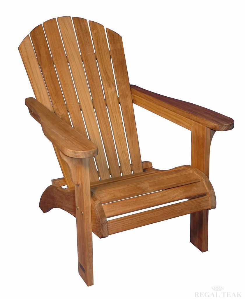 The essential guide to adirondack chairs one kings lane - Regal Teak Adirondack Chair R231