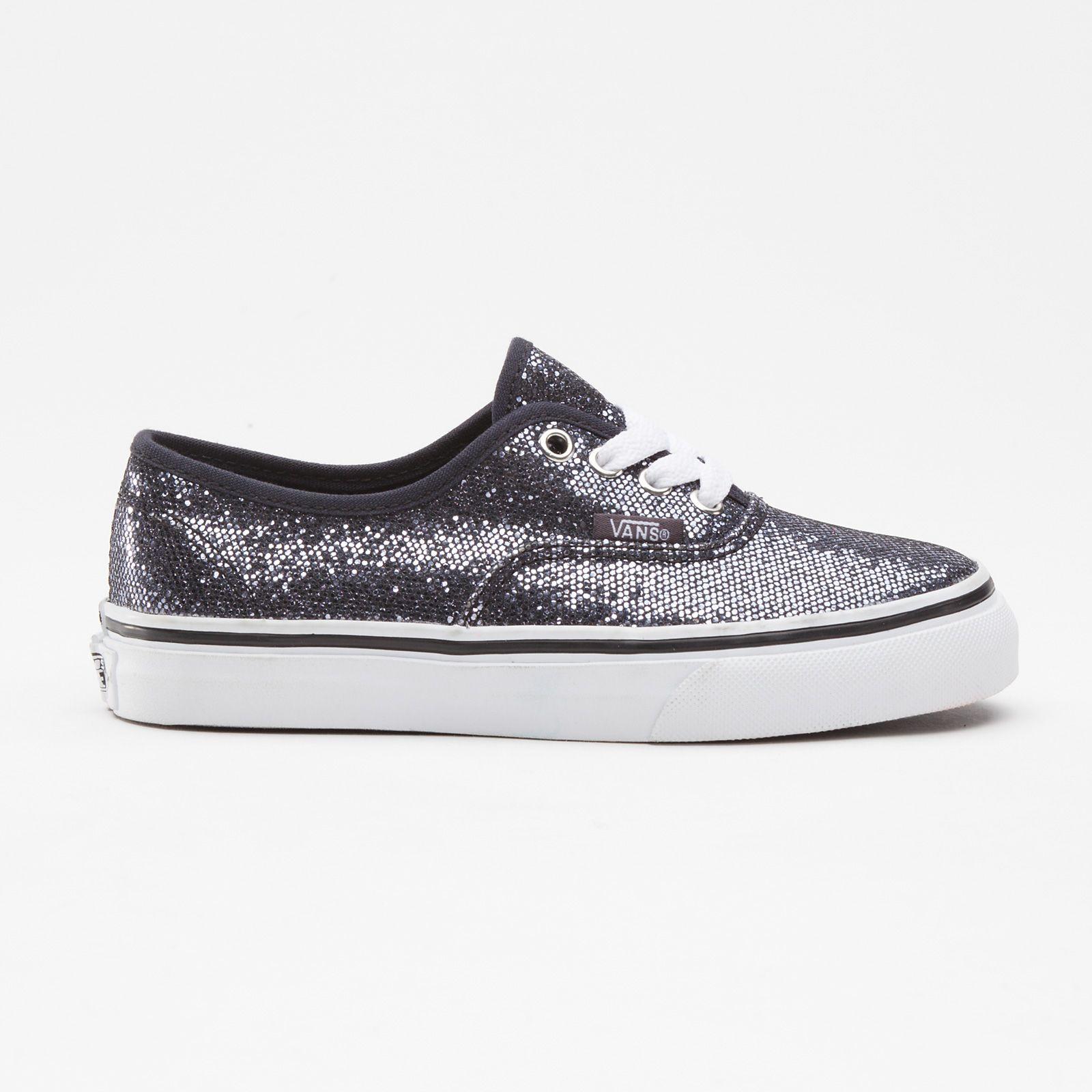 Glitter vans size 7 | Vans, Sparkly