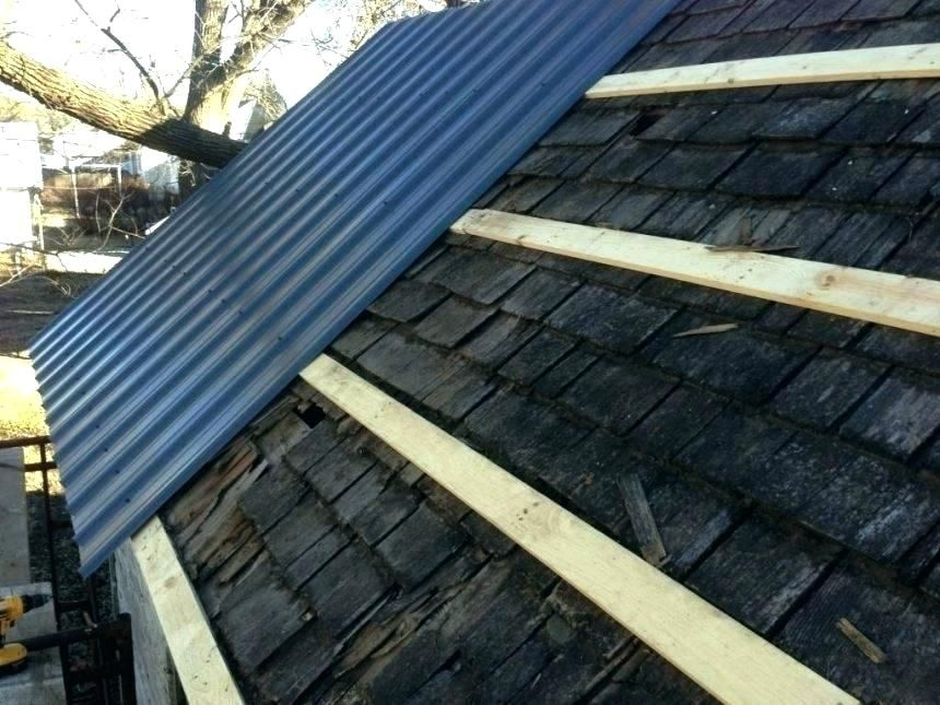 Steel Roof Installation Over Shingles In 2020 Corrugated Metal Roof Metal Roof Installation Metal Roof Over Shingles