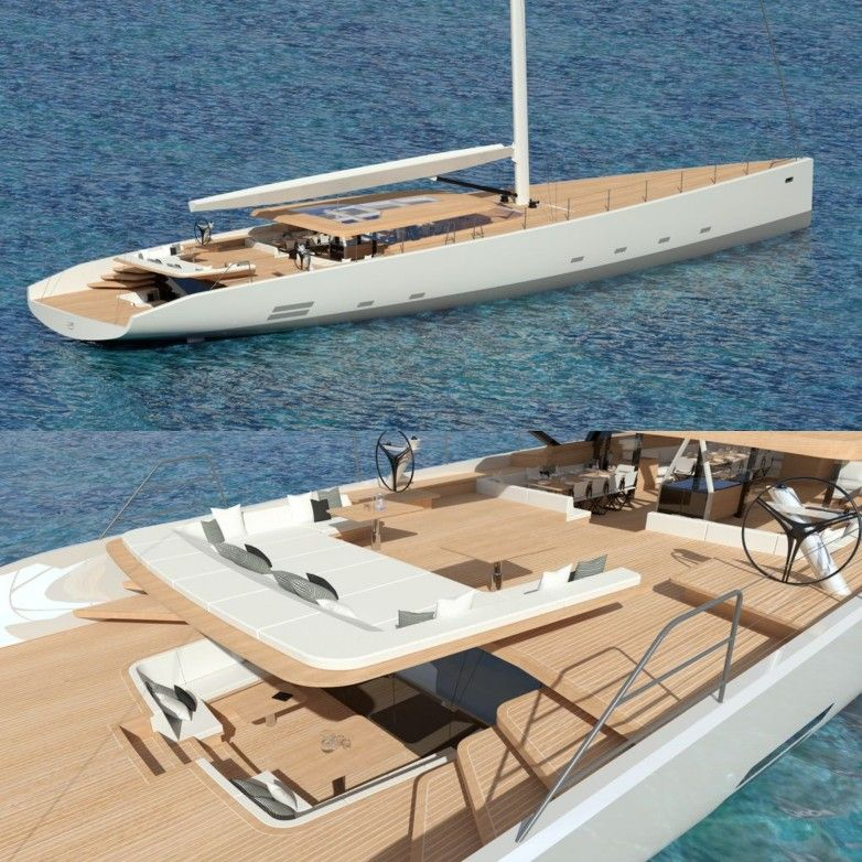 Wally 145   44m Sailing Yacht With Hybrid Propulsion. Exterior Design And  Naval Architecture: