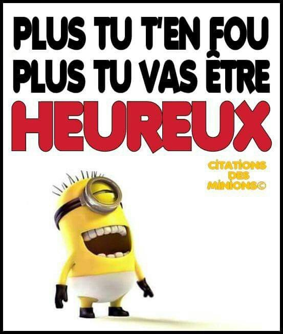 citations des minions citations perso pinterest humor funny quotes and minions minions. Black Bedroom Furniture Sets. Home Design Ideas