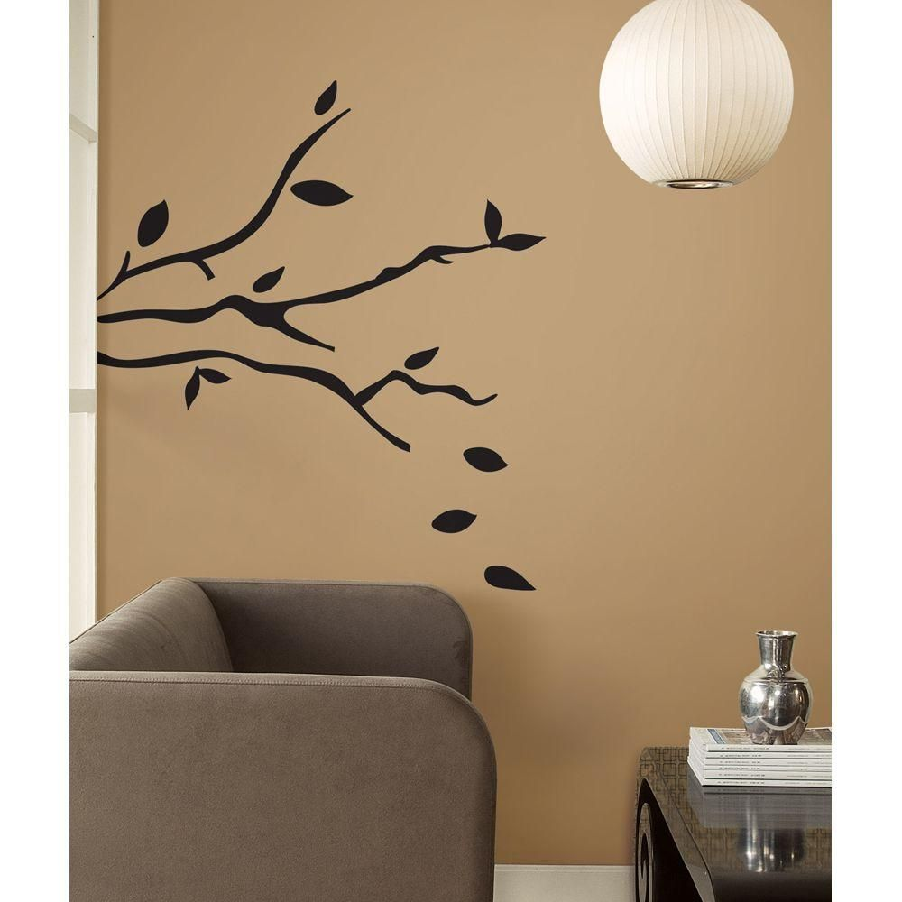 null 19 in. Tree Branches Peel and Stick Wall Decals | Wall decals ...