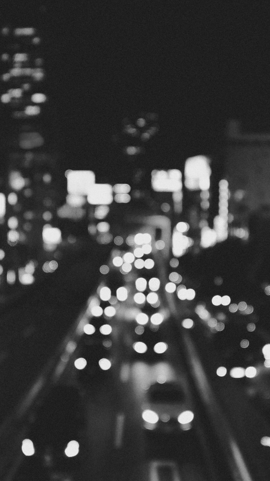 Wallpaper iphone 6 black - City Bokeh Night Street Nature Israel Iphone 6 Plus Wallpaper