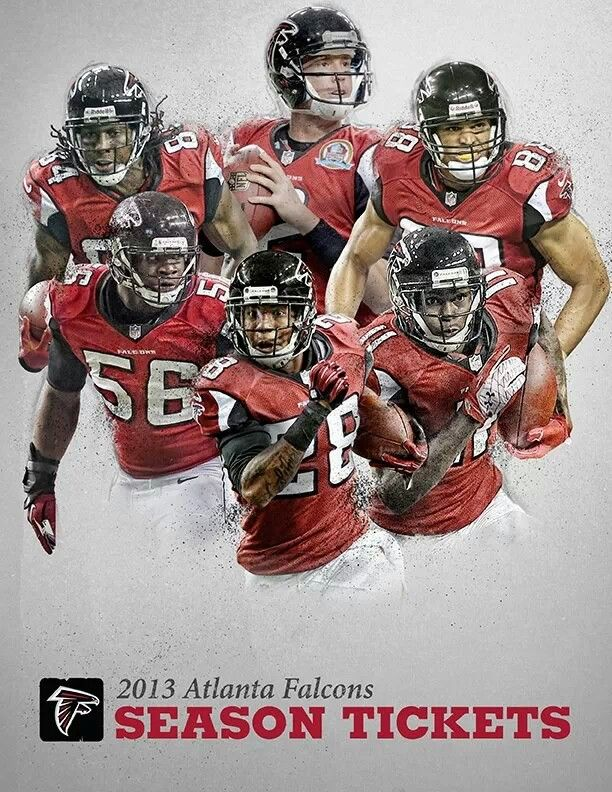 2013 Season Tickets Pic Atlanta Falcons Falcons Rise Up Falcons