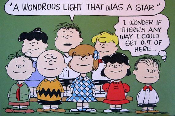 Another peanuts gang painting | Etsy