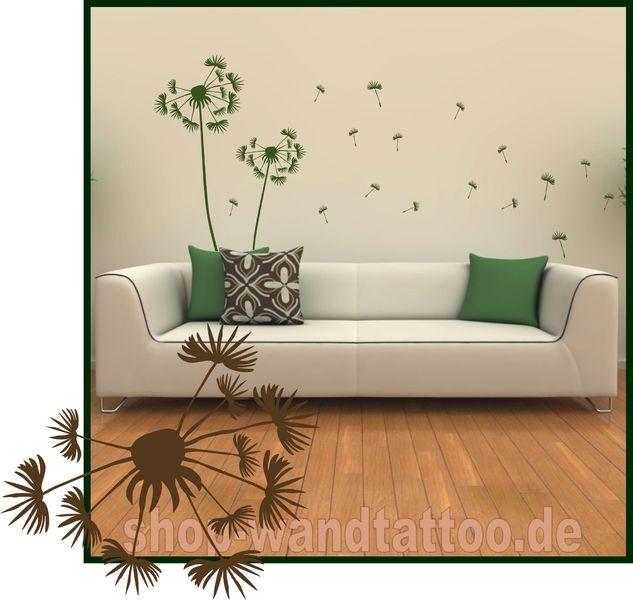 wandtattoo pusteblume - Google-Suche Painting our wall - wandtattoo braune wand