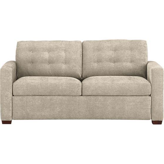 Allerton Queen Sleeper Sofa In Sleeper Sofas Crate And Barrel