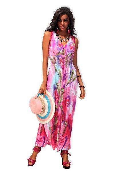 Pin uživatele www.a-moda.cz na nástěnce Dlouhé letní šaty se ... aaa5139023